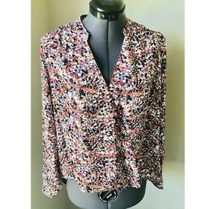 NWT The Limited Multi Color Blouse 40534617 - M